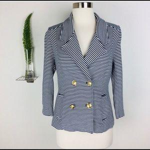 CAbi nautical 3/4 sleeve jacket